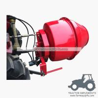 Cheap 5HCM - 3 point hitch mounted hydraulic motor driven Cement Mixer Concrete mixer wholesale