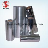 China Silver Metalized Polyester Film , Thermal Lamination Film Gravure Printing Available on sale