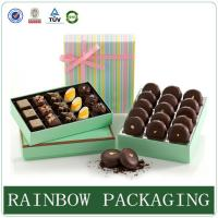 Cheap Chocolate Paper Box Packaging , Product Packaging Box for Gift Wrapping wholesale