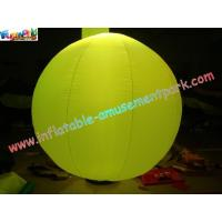 Cheap 2 Meter Colorful Pvc Inflatable Wedding Tent Lights Ball For Stage Exhibition wholesale