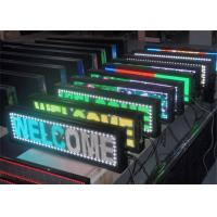 Cheap Electronic Advertising  Programmable Scrolling LED Sign 16 x 32 Dot Matrix wholesale