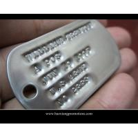Cheap Factory Cheapest Hot plain metal dog tag,promotional dog tag wholesale