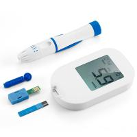 Cheap Big Screen Digital Blood Glucose Meter With Coding and Test Strips wholesale