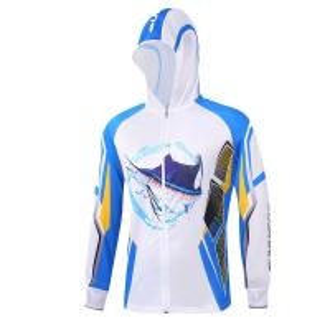 Cheap Custom Sublimation Long Sleeve Mens Fishing Sweatshirts Anti UV Flat Bottom wholesale
