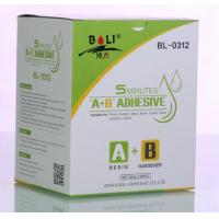 Cheap ISO9001 certified 20g popular  acrylate  universal AB glue for many materials wholesale