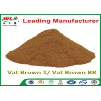 Buy cheap Custom Synthetic Dyes C I Vat Brown 1 Brown BR Dye For Synthetic Fabric from wholesalers