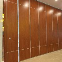 Buy cheap Interior Hanging Decorative Acoustic Folding Movable Wall Partitions System from wholesalers