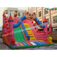 Cheap Outdoor Durable Cute Inflatable Commercial Inflatable Slide, jumping slide for rental wholesale