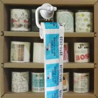 Cheap Toilet paper roll  3 layer 200 sheets 100% wood virgin pulp printed toilet paper wholesale