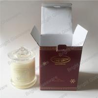 China 100% natural soy scent candle container in stock on sale