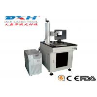 Cheap Small Industrial Laser Marking Systems , Transparent Glass Carving Machine  wholesale