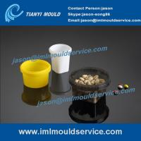 Cheap thin walls food grade containers mould, 250-800 ml thin wall round bucket mould wholesale
