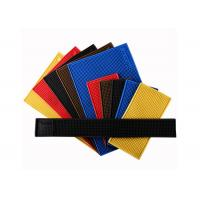 China Colorful PVC Square Bar Mat , Durable Anti Slip Personalised Rubber Bar Mats on sale