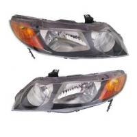 Quality N / M Approval Automotive Led Headlights For 06-09 10 11 Honda Civic for sale