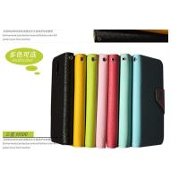 Cheap Green , Blue , Yellow , Pink S4 Leather Flip Case Cover For Samsung Galaxy I9500 wholesale