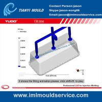 Cheap thin wall plastic rectangular containers mould flow analysis wholesale