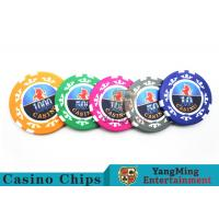 Cheap High Precision Casino Poker Chip Set / Poker Table Set For Gambling Games wholesale