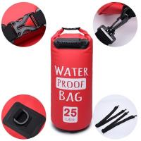 Cheap OEM Customize Durable Floating Backpack PVC Duffel Drybag Waterproof 25L with handle wholesale