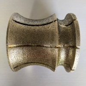 Cheap Stone Profilling Abrasive Electroplated Diamond Tools Blade wholesale
