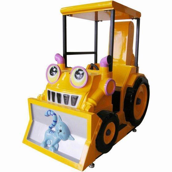 ride bulldozer