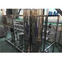 China Reverse Osmosis Water Purification Systems For Beverage Processing Industry on sale