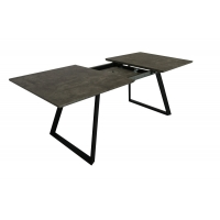 Cheap Expandable Modern Wood Dinning Table MDF With Marble Paper Veneer Top wholesale