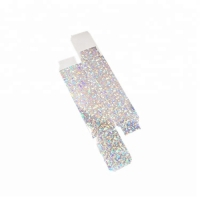 Cheap New Coming Glitter Silver Star Shiny Glossy Surface  Lip Stick/ Gloss Packaging Paper Box wholesale