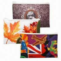 Cheap Colorful Heavy-duty Polyester Convenience Bags, Made by Sublimation wholesale