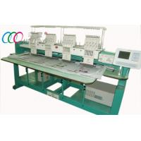 Cheap 4 Heads 9 Needles Tubular Embroidery Machine , Automatic Color Changing wholesale