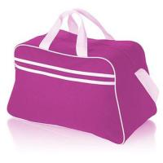 Fashion Custom Duffle Bags Zip Closure , Heavy Duty Canvas Travel bag