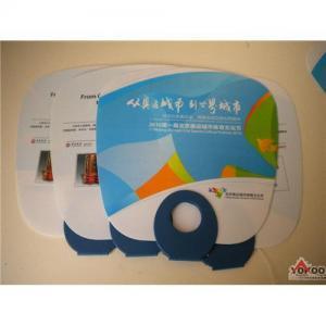 promotion pp hand plastic fan