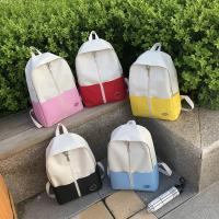 Cheap Schoolbag nansen is wearing a small fresh canvas backpack for high school students in ulzzang, harajuku wholesale