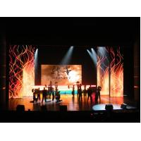 Cheap 1R1G1B Full Color Electronic Led Curtain Display wholesale