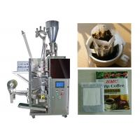Cheap Granular / Powder Drip Coffee Packing Machine With 3 Sides Seal wholesale