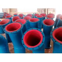 China rubber lined steel pipe used for chemical system on sale