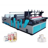 China Full-automatic High-speed Rewinding And Perforating Small Toilet Paper Making Machine on sale