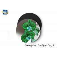 Cheap Stunning Flower Personalised Round Coasters , Print Your Own Coasters 3D Lenticular Picture wholesale