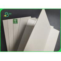 China 0.4mm - 4mm Thick Grey Color Paper Board Sheets For Puzzle Moisture Proof on sale