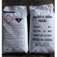 Quality Industrial Sodium Hydroxide Caustic Soda Pearls 99% CAS 1310-73-2 For Bleach for sale