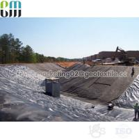 Quality PP Black woven geotextile price soil stabilization fabric rolls for sale