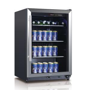 Cheap BEVERAGE COOLER 131L BLACK LED DISPLAY wholesale