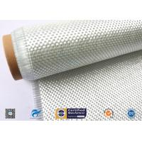 Cheap High Temperature Resistant Fiberglass Fabric , Woven Roving Cloth With High Strength wholesale