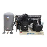China 30 bar 2 stage high pressure air compressor with tank for PET blow moulding machine on sale