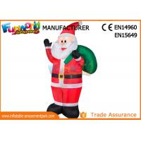 Cheap Outdoor Advertising Inflatables Santa Christmas Decoration Size Customized wholesale
