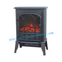Cheap Freestanding Electric Fireplace Stove 2000W , Remote Control Electric Fireplace wholesale