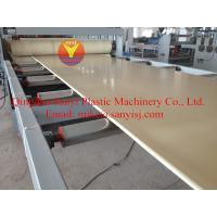 Cheap WPC Construction Board Extruding Machine with High-Quality wholesale