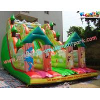 Cheap Kids Outdoor Large Inflatable Commercial Inflatable Dry Slide  for rent, home use wholesale
