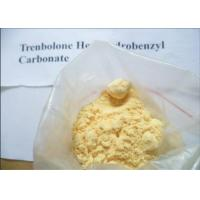 Weight Loss Trenbolone Hexahydrobenzyl Carbonate Yellow Powder Enterprise Standard