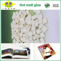 Cheap EVA White Hot Melt Glue Pellets  Small Density And High Flexibility For Book And Magazine Printing wholesale