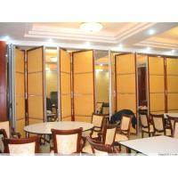Cheap Sound Insulation Folding Restaurant Partition Wall With Aluminum Frame wholesale